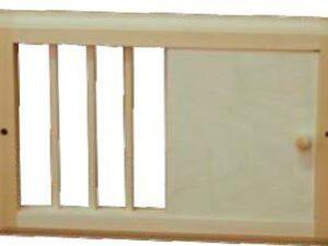Вентиляционная задвижка малая (липа), арт. РВ-М